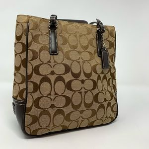 Authentic Coach Signature Lunch Tote
